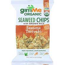 Organic Teriyaki Seaweed Rice Chips