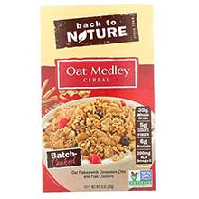 Oat Medley with Cinnamon Clusters Cereal