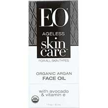 Ageless Organic Argan Face Oil with Avocado and Vitamin E