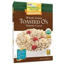 Organic Toasted Os Whole Grain Cereal