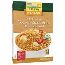 Organic Golden Rice Crisps Whole Grain Cereal