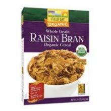 Organic Raisin Bran Whole Grain Cereal