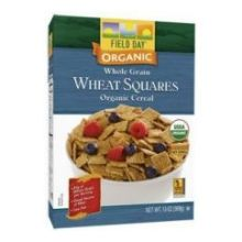 Organic Wheat Squares Whole Grain Cereal