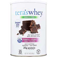 rBGH Free Fair Trade Dark Chocolate Whey Protein