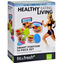 Smart Portion Healthy Living 14 Pieces Container Set