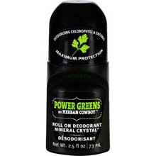 Power Greens Roll On Deodorant