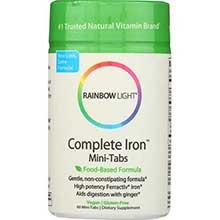Rainbow Light Complete Iron System Tablet