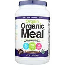 Organic Plant Based Creamy Chocolate Fudge Meal Powder