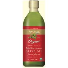 Spectrum Naturals Organic Mediterranean Extra Virgin Olive Oil 33.8 Ounce