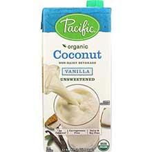 Organic Vanilla Unsweetened Coconut Beverage