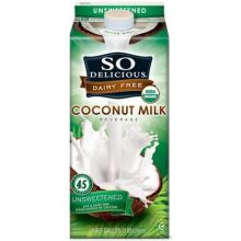 Organic Unsweetened Coconut Milk Beverage
