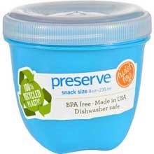 Round Mini Aqua Food Storage Container