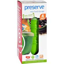 Round Mini Apple Green Food Storage Container