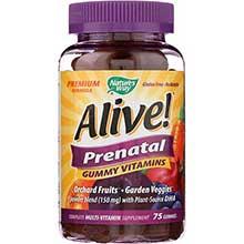 Alive Prenatal Multi Vitamin Gummies