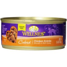 Cubed Chicken Entree Cat Food