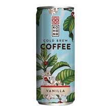 Tahitian Vanilla Cold Brew Coffee Beverage