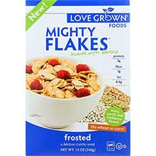 Mighty Flakes Frosted Cereal