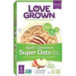 Apple Cinnamon Super Oats