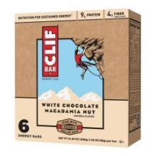 Organic White Chocolate Macadamia Energy Bar