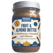 Fruit and Almond Butter Spread with Blueberry Cinnamon Walnuts