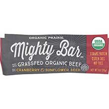 Organic Cranberry Sunflower Seed Beef Mighty Bar
