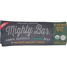 Organic Uncured Bacon and Apple Beef Mighty Bar