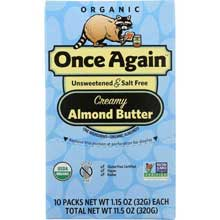 Organic Original Almond Butter