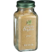 Simply Organic Ground Ginger Root 1.64 Ounce