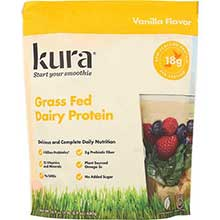 Vanilla Grass Fed Protein Smoothie Powder