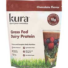 Chocolate Grass Fed Protein Smoothie Powder 16.9 Ounce