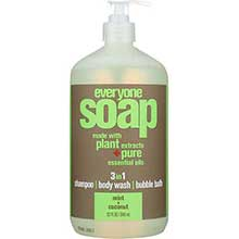 Everyone 3 In 1 Mint and Coconut Natural Soap