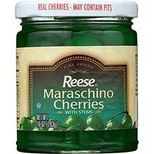 Green Maraschino Cherry