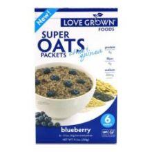 Blueberry Super Hot Oats