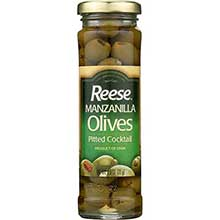 Reese Pitted Cocktail Olive