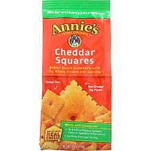 Organic Cheddar Squares Baked Snack Cracker