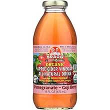 Organic Pomegranate and Goji Apple Cider Vinegar