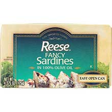 Reese Fancy Sardines in 100 Percent Olive Oil