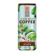 Volcanic Black Cold Brew Coffee Beverage