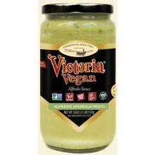 Vegan Arugula Pesto Alfredo Sauce