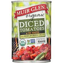 Muir Glen Organic Fire Roasted Diced Tomato - 14.5 Ounce