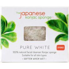 Pure White Facial Konjac Sponge