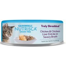 Truly Shredded Chicken and Chicken Liver Entree In Savory Broth Wet Cat Food