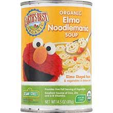 Organic Sesame Street Elmo Soup