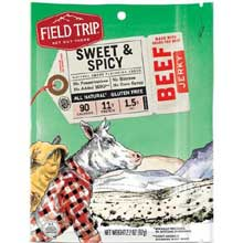 All Natural Gluten Free Sweet and Spicy Beef Jerky