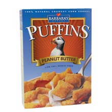 Peanut Butter Cereal Puffin
