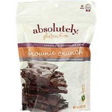 Gluten Free Chocolate Chocolate Chip Brownie Crunch Snacks