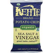 Organic Sea Salt and Vinegar Kettle Chips