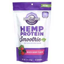 Berry Hemp Protein Smoothie