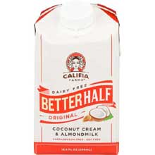 Better Half Original Coconut Cream and Almond Milk Creamer