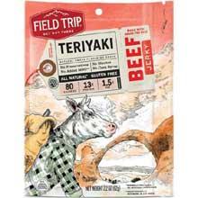 All Natural Gluten Free Teriyaki Beef Jerky